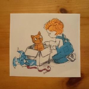 Daisy and Cat
