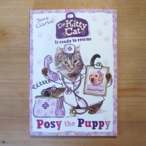 Dr Kitty Cat is ready to rescue Posy the Puppy