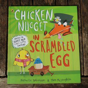 Chicken Nugget in Scrambled Egg